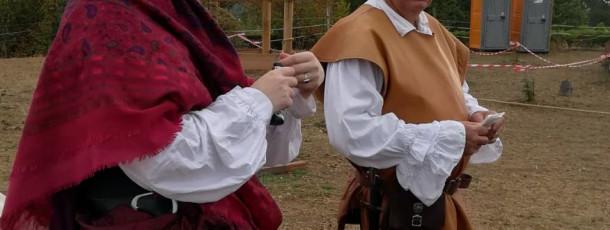 Médiévales au chateau de Trévoux 2020